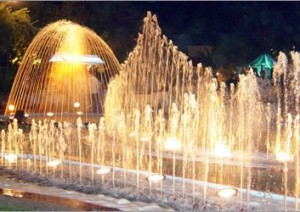 Fountain Nozzles and water jets