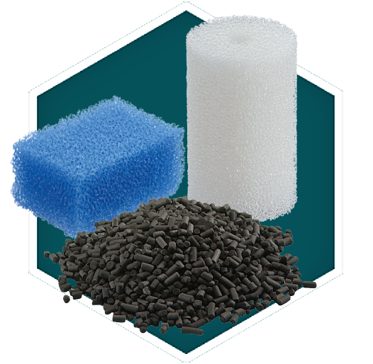Aquarium Filter Foams And Media Oase Water Garden Uk