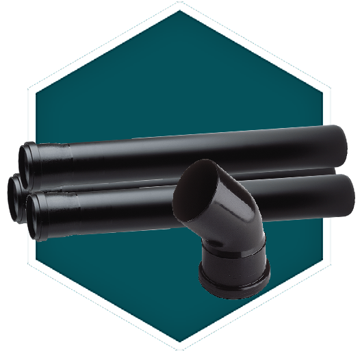 Oase biotec filter discharge pipes elbow bends for Pond filter pipe